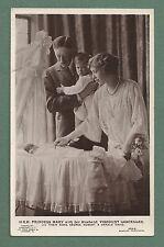 MID 1920'S RP PC H.R.H. PRINCESS MARY, VISCOUNT LASCELLES & CHILDREN