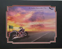 A Father Just Like You Personalized Father's Day Gift for Dad Daddy with Harley