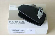 Key Holder Fob Leather Case/Cover M Sport Black For BMW