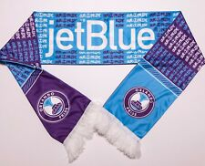 "ORLANDO PRIDE NWSL Soccer Scarf Purple Blue ""Our Pride"" JetBlue Promo"