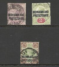 Protectorate Used Single Bechuanaland Stamps (Pre-1966)