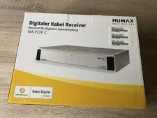 Digitaler Kabel Receiver  Humax  NA - FOX C  neu  OVP