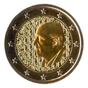 2 Euro Münze Griechenland 2016 Dimitri Mitropoulos Gedenkmünze Sondermünze