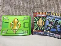 BANDAI Kamen Masked Rider Ryuki CSM V Buckle Verde Card Deck Advent Cards set