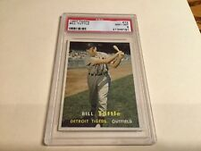 1957  Topps  #72 Bill Tuttle , PSA 8 , Detroit Tigers , Free Shipping