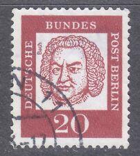 Berlin 1961 VFU Mi 204 Sc 9N181 Sebastian Bach ,German composer and musician **