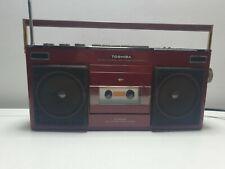 Vintage 80s Retro Boombox RT-8000SR TOSHIBA Radio. Cassette DECK Not WORKING
