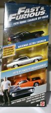 Fast and Furious Diecast Vehicle 3-Pack Dom's Torque Pack FCG02- Brand New Toy