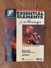 Essential Elements for Strings: Cello Book 1 With Interactive Online Resources