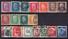 GERMANY D/R STAMPS #410-565 USED