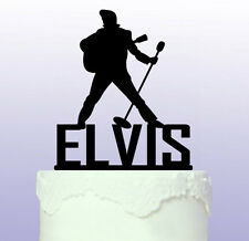Personalised Elvis Cake Topper