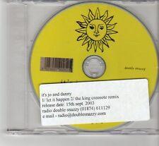 (FR583) It's Jo And Danny, Let It Happen - 2003 DJ CD