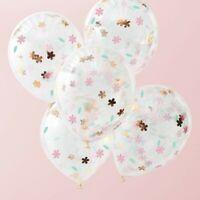 FLORAL CONFETTI BALLOONS - DITSY FLORAL, Wedding, Birthday Party, Venue Deco