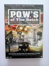 P.O.W.'s Of The Third Reich- Prisoners of the reich - 2 dvd - nieuw in seal