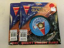 "Ruswest Inc GAZEL 4.5"" Tuck-Point Concrete Blade - 2 Pack"