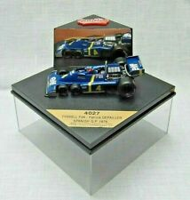 Quartzo. 4027. Tyrrell P34. Patrick Depailler. Spanish GP. 1976.