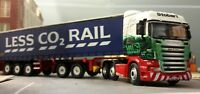 Stobart Rail Scania Container Lorry Wagon Bachmann Dapol Terminal 1:76 OO/00