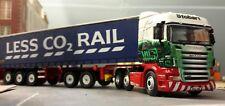 Stobart Rail SCANIA Conteneur CAMION WAGON BACHMANN DAPOL Terminal 1:76 OO / 00