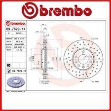 09.7629.1X#135 DISCO FRENO ANTERIORE SPORTIVO BREMBO XTRA OPEL ZAFIRA B Van 1.6