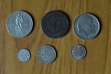 LOTTO 6 MONETE RUSSIA 5 KOPECHI 1873 20 KOPECHI 1923 RUBLO 1970 SUBALPINA