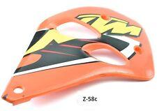 KTM 125 LC2 bj.99 - Revêtement du reservoir REVETEMENT du Refroidisseur droite