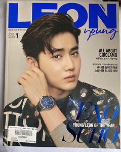 EXO SUHO--- Whole Magazine LEON Korea January 2019  Tracking