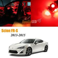 Full Red LED Lights Upgrade Interior Package For 2013-2015 Scion FR-S