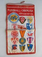 Wimpel Fussball-Oberliga der DDR 1971/72 Dynamo Dresden,Jena,Union Berlin.BFC
