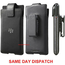 GENUINE Blackberry LEATHER CASE PRIV Mobile cover cell phone smartphone pouch