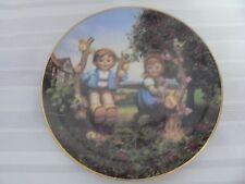 "M. I. Hummel Plate ""Apple Tree Boy and Girl"" Little Companions"
