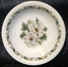 1x Noritake China bowl with a lovely white anenome pattern.  Approx 5 1/2 ins