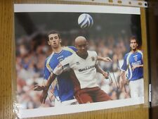 06/10/2007 Signed Photograph: Cardiff City v Burnley - Autographed By Clarke Car