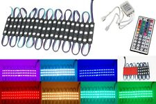 10ft STOREFRONT RGB MULTI COLOR LED LIGHT MODULE WITH WIRELESS REMOTE & UL POWER