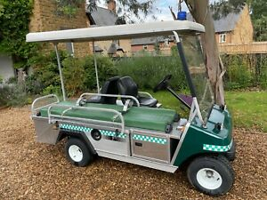 Clubcar Petrol Golf Buggy Ambulance Emergency Event Vehicle ONLY 57Hrs