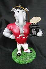 "Alabama Big Al ""Roll Tide"" Christmas Tree Ornament Holiday Gift Football College"