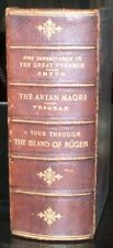 SIGNED, 3 Rare Books in 1, THE GREAT PYRAMID, ARYAN MAORI, ISLAND OF RUGEN