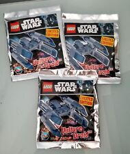 LEGO Star Wars - Limited Edition LEGO Magazine Vulture Droid Lot - US Seller