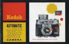 Kodak Automatic 35 F Camera Instruction Manual original