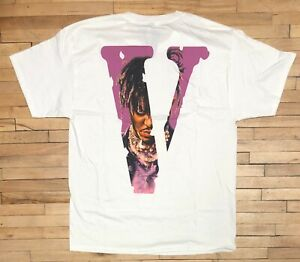 Vlone X Juice WRLD T Shirt Size L Club 999 LND Legends Never Die