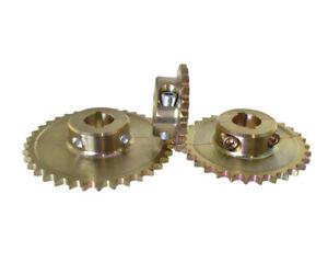 Kart Ritzel, Stahl Kettenrad für 428er Kette, 30mm Achse, 21 - 38 Zähne