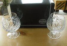 "Boxed Pair of Bohemia Crystal Diana 14oz Brandy Balloons - 4 7/8""(<12.5cms)"