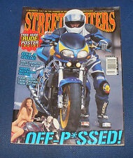 STREETFIGHTERS MAGAZINE OCTOBER 2001 - GSX-R SPECIAL!