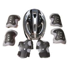 Boys Girls Kids Safety Helmet & Knee & Elbow Pad Set For Cycling Skate Bike MTB