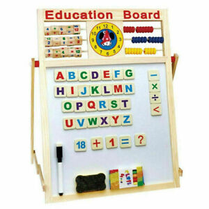 6-IN-1 EARLY YEARS EDUCATION ACTIVITY SET CHALKBOARD WHITEBOARD KIDS TODDLER