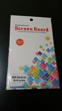 S5 Anti-Glare Matte Matt Screen Screen Protector with cloth