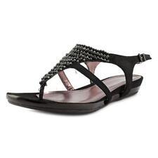 Sandalias y chanclas de mujer planos de color principal negro talla 36