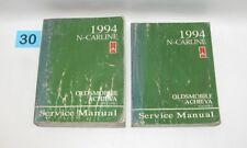 1994 Oldsmobile Achieva Factory Service Manual Set  GOOD USED CONDITION #30