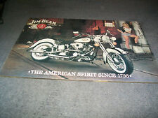 Jim Beam Australia Custom Bike Contest Poster 1997 Very rare and is hangable.