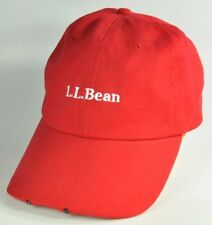 79e97874ea735 L.L. BEAN PATHFINDER RED BALL CAP WITH LED LIGHTS HANDSFREE