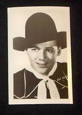 Bob Nolan 1940's 1950's Actor's Penny Arcade Photo Card